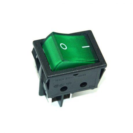 BM448 – Green-Illuminated-Rocker-Switch