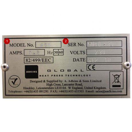 press-info-plate